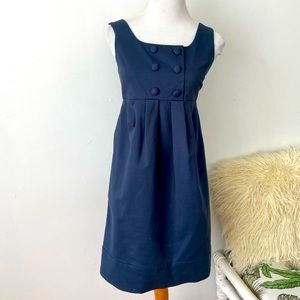 Cue Size 6 Sleevless Dress With Pockets